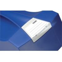 Pojemnik na teczki zawieszkowe HAN Swing Plus, polistyren, A4, z wiekiem, niebieski