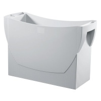 Suspension File Box HAN Swing, polystyrene, A4, grey