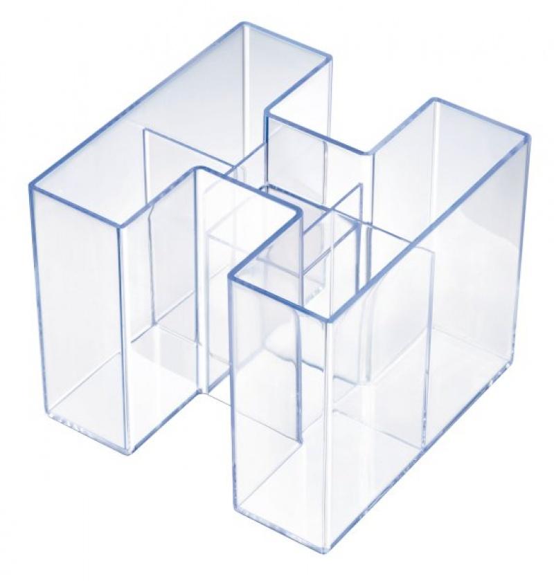 Przybornik na biurko HAN Bravo Signal, 5 komór, jasnoniebieski, Przyborniki na biurko, Drobne akcesoria biurowe