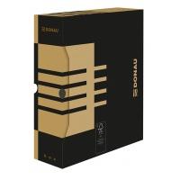Pudło archiwizacyjne DONAU, karton, A4/100mm, brązowe, Pudła archiwizacyjne, Archiwizacja dokumentów