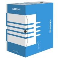 Pudło archiwizacyjne DONAU, karton, A4/200mm, niebieskie, Pudła archiwizacyjne, Archiwizacja dokumentów