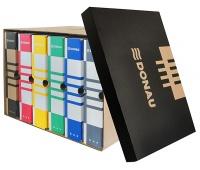 Pudło archiwizacyjne DONAU, karton, zbiorcze, górne, brązowe, Pudła archiwizacyjne, Archiwizacja dokumentów