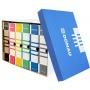 Pudło archiwizacyjne DONAU, karton, zbiorcze, górne, niebieskie, Pudła archiwizacyjne, Archiwizacja dokumentów