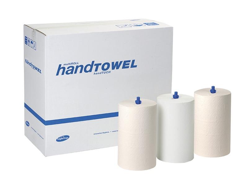 Ręczniki papierowe HAGLEITNER X1, 1-warstwowe, 854 listków, 205m, 5szt., Ręczniki papierowe i dozowniki, Artykuły higieniczne i dozowniki