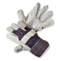 Rękawice ekon. Pop1 (HS-01-001), montażowe, wzm. skórą dwoiną bydlęcą, rozm. 10, 5, Rękawice, Ochrona indywidualna