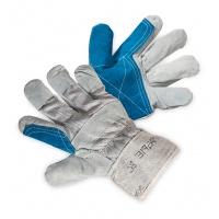 Rękawice ekon. Pop3 (HS-01-003), montażowe, wzm. skórą dwoiną bydlęcą, rozm. 10, 5, Rękawice, Ochrona indywidualna