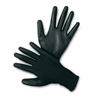 Rękawice ekon. Resistance-B (HS-04-003), montażowe, poliester+poliuretan, rozm. 8, czarne, Rękawice, Ochrona indywidualna