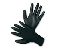 Rękawice ekon. Resistance-B (HS-04-003), montażowe, poliester+poliuretan, rozm. 9, czarne, Rękawice, Ochrona indywidualna