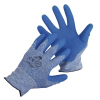 Rękawice Modularis, montażowe, nylon+nitryl, rozm. 8, niebieskie, Rękawice, Ochrona indywidualna
