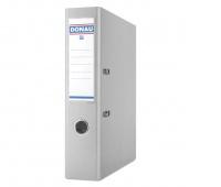 Segregator DONAU Premium, PP, A4/75mm, szary, Segregatory polipropylenowe, Archiwizacja dokumentów