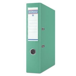 Segregator DONAU Premium, PP, A4/75mm, turkusowy, Segregatory polipropylenowe, Archiwizacja dokumentów