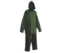 Trousers and Jacket Carina, polyester, size L, green