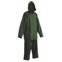 Spodnie i kurtka Carina, poliester, rozm. L, zielone, Zestaw przeciwdeszczowy, Ochrona indywidualna