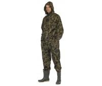 Spodnie i kurtka Carina, poliester, rozm. M, moro, Zestaw przeciwdeszczowy, Ochrona indywidualna