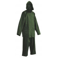 Trousers and Jacket Carina, polyester, size M, green