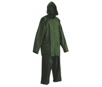 Trousers and Jacket Carina, polyester, size XXL, green