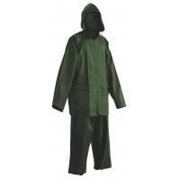 Spodnie i kurtka Carina, poliester, rozm. XXL, zielone, Zestaw przeciwdeszczowy, Ochrona indywidualna