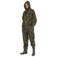 Spodnie i kurtka Carina, poliester, rozm. XXXL, moro, Zestaw przeciwdeszczowy, Ochrona indywidualna