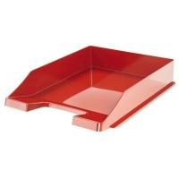 Szufladka na biurko HAN Elegance, polistyren, A4, czerwona, Szufladki na biurko, Drobne akcesoria biurowe