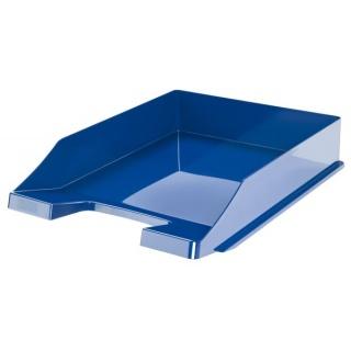 Szufladka na biurko HAN Elegance, polistyren, A4, niebieska, Szufladki na biurko, Drobne akcesoria biurowe