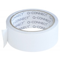 Double-sided Tape, Q-CONNECT, 38mm, 10m, white