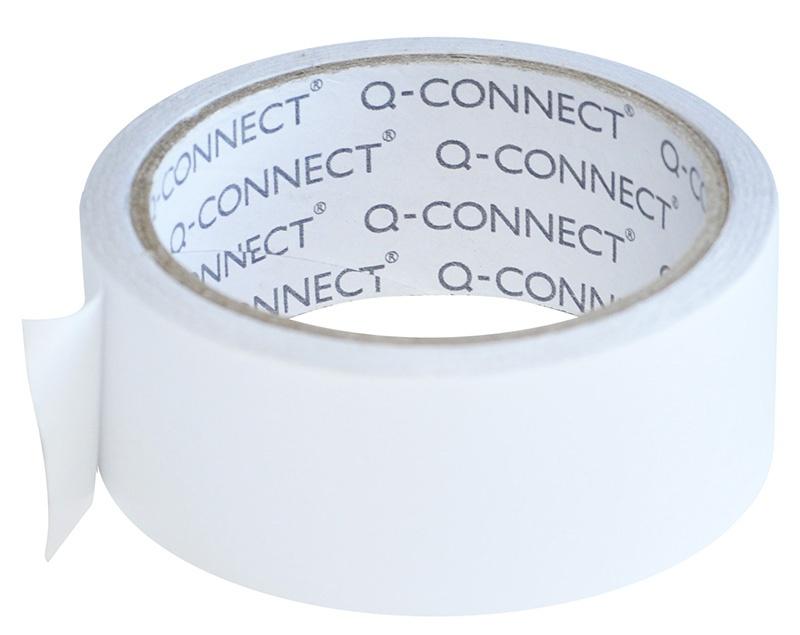 Taśma dwustronna Q-CONNECT, 38mm, 10m, biała, Taśmy specjalne, Drobne akcesoria biurowe
