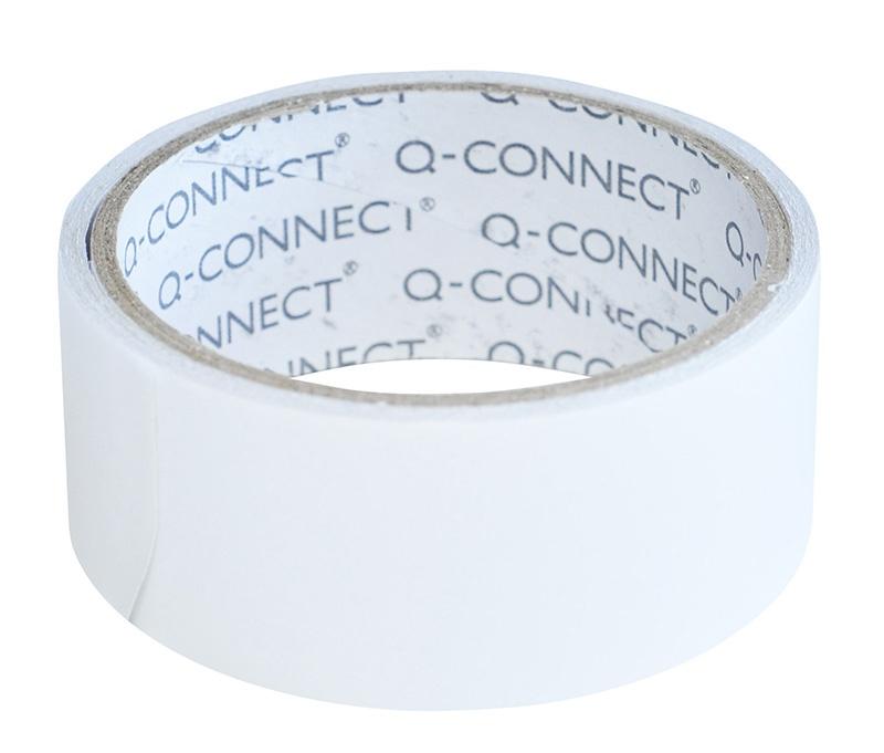 Taśma dwustronna Q-CONNECT, 38mm, 5m, biała, Taśmy specjalne, Drobne akcesoria biurowe