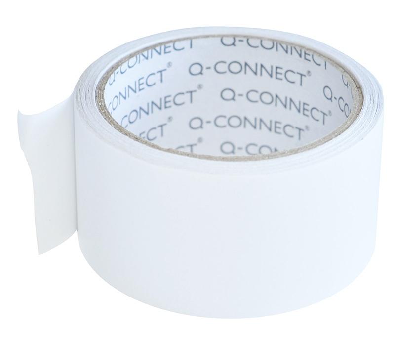 Taśma dwustronna Q-CONNECT, 50mm, 10m, biała, Taśmy specjalne, Drobne akcesoria biurowe