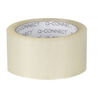 Masking Tape Q-CONNECT, 50mm, 40m, light yellow