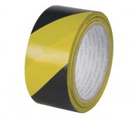 Taśma ostrzegawcza Q-CONNECT, 48mm, 20m, czarno-żółta, Taśmy specjalne, Drobne akcesoria biurowe