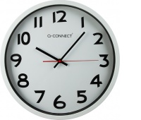 Wall Clock Q-CONNECT Warsaw 37. 5cm, silver