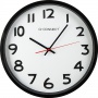 Zegar ścienny Q-CONNECT Wels, 37,5cm, czarny