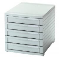 Five-Drawer Set HAN Contur, polystyrene, A4+, grey