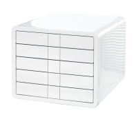 Five-Drawer Set HAN iBox, ABS, A4, white