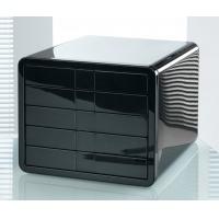 Zestaw 5 szufladek HAN iBox, ABS, A4, czarny, Szufladki - zestawy, Drobne akcesoria biurowe