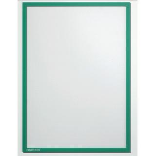 Ramka magnetyczna FRANKEN, A3, zielona, Systemy prezentacyjne, Prezentacja