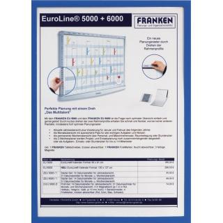 Ramka magnetyczna FRANKEN, A3, niebieska, Systemy prezentacyjne, Prezentacja