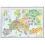 Kartentafel FRANKEN, europa, 140x100cm