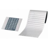 Zestaw cyfr magnetycznych FRANKEN, do planera, szare/białe, Planery, Prezentacja