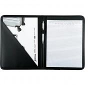 Teczka ALASSIO Savona, skóra ekologiczna, 310x240x15mm, czarna, Torby, teczki i plecaki, Akcesoria komputerowe