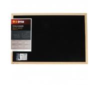Tablica kredowa BI-OFFICE, 60x40cm, rama drewniana, Tablice kredowe, Prezentacja