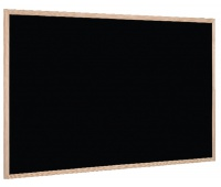 Tablica kredowa BI-OFFICE, 90x60cm, rama drewniana, Tablice kredowe, Prezentacja