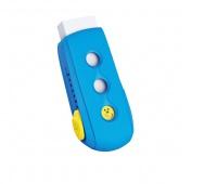 Gumka uniwersalna KEYROAD Smile, pakowane na displayu, mix kolorów, Plastyka, Artykuły szkolne