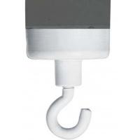 Magnesy do tablic FRANKEN, hak, średnica 25mm, biały, Bloki, magnesy, gąbki, spraye do tablic, Prezentacja