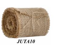Juta naturalna, 10cm/4,5m, Produkty kreatywne, Artykuły dekoracyjne