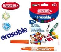 Mazaki Erasable 9+1 wymazywalne, Flamastry, Artykuły szkolne