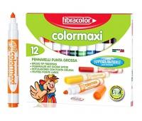 Mazaki COLOR MAXI x12 w pud., Flamastry, Artykuły szkolne