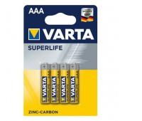 BATERIE CYNKOWO-WĘGLOWE SUPERLIFE AAA, BLISTER 4 SZT., Baterie, Urządzenia i maszyny biurowe