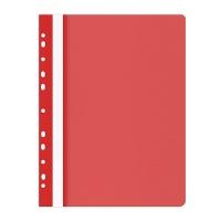 Skoroszyt OFFICE PRODUCTS, PP, A4, miękki, 100/170mikr., wpinany, czerwony, Skoroszyty do segregatora, Archiwizacja dokumentów