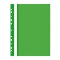 Skoroszyt OFFICE PRODUCTS, PP, A4, miękki, 100/170mikr., wpinany, zielony, Skoroszyty do segregatora, Archiwizacja dokumentów